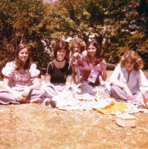 Rhubascher's birthday, Oct 1975.