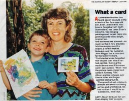 1995 - I bought the magazine just so I could have a copy of Birdie's article.